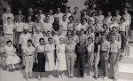 Camp Paivika Staff - 1956